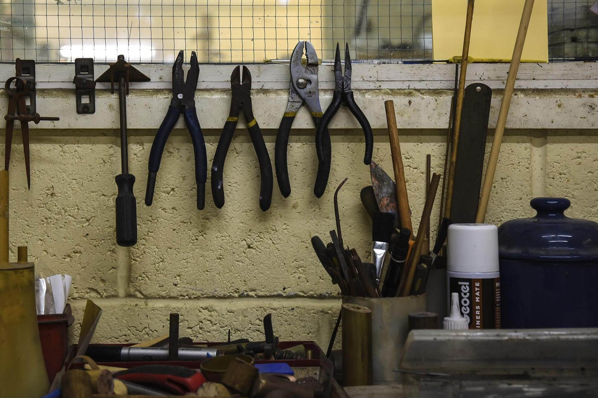 Collier Webb Foundry tools
