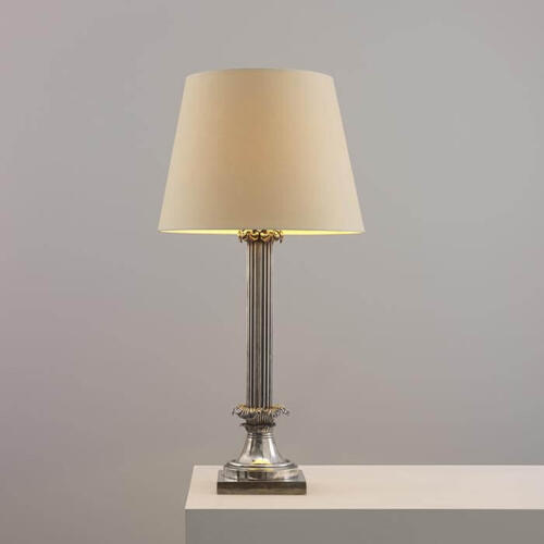 Arum Table Light, Neoclassical Style Table Lamp by Collier Webb