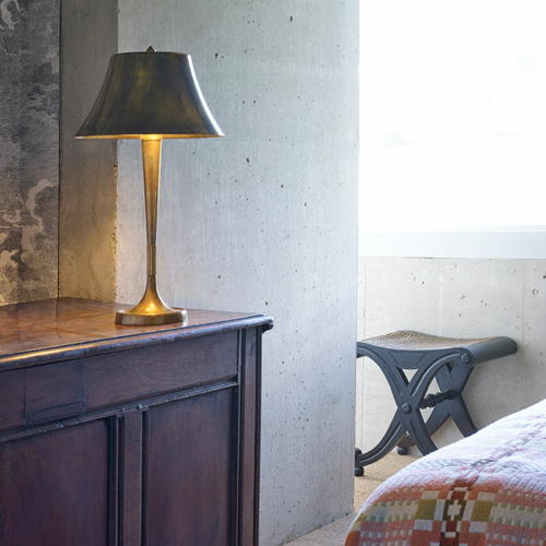 bourse Table lamp by Collier Webb