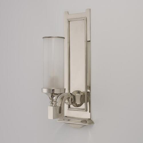 Enterprise Wall Light, Art Deco inspired wall sconce by Collier Webb