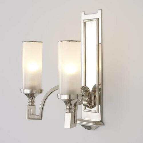 Enterprise twin arm sconce by Collier Webb