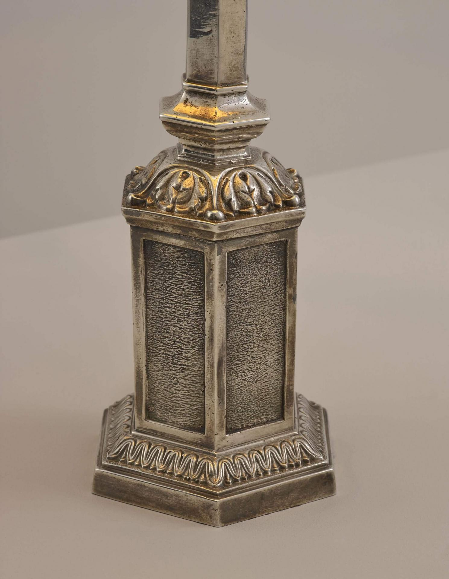19th Century Gothic table lamp