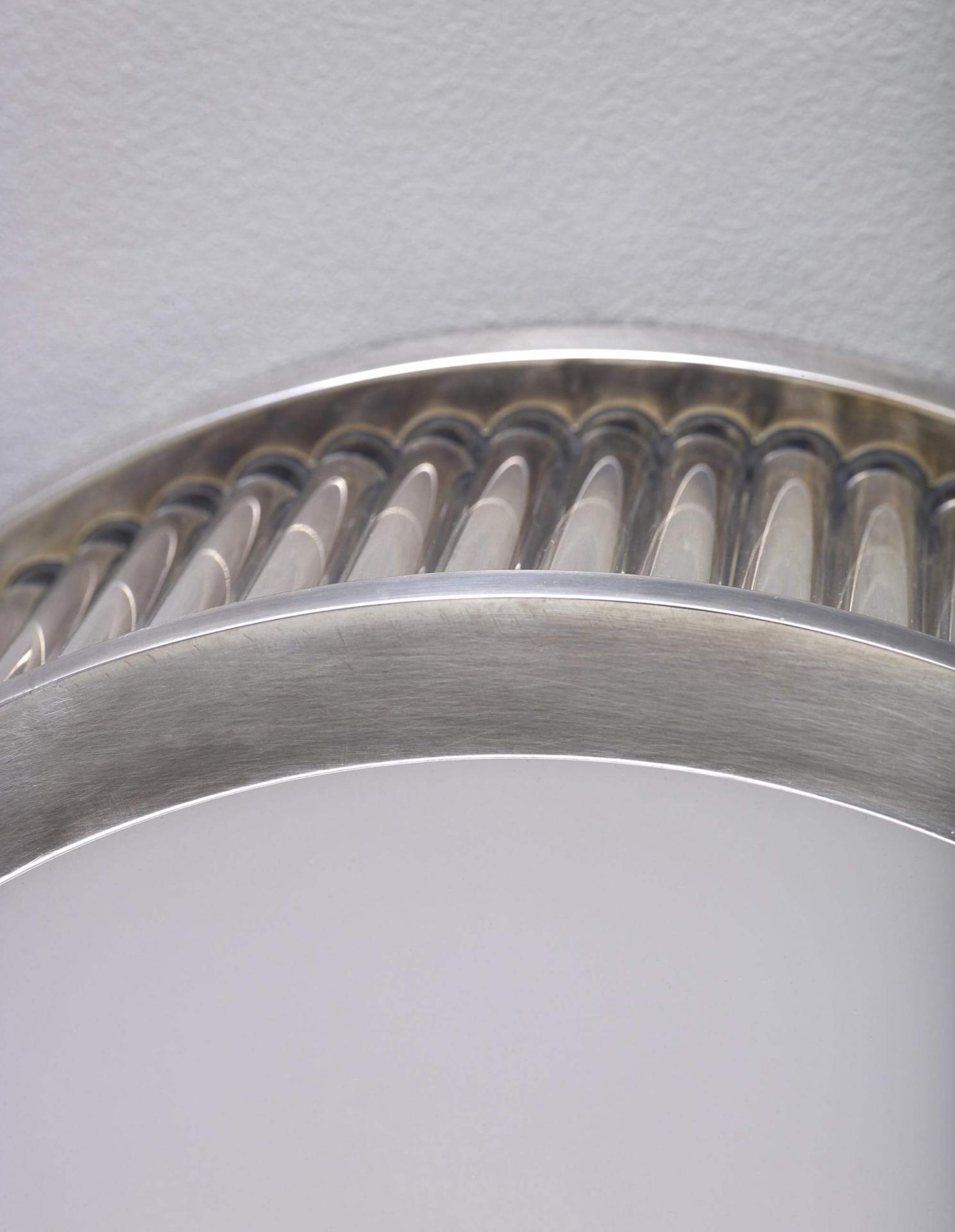 Round Odeon Flush Mounted - a luxury ceiling light by Collier Webb