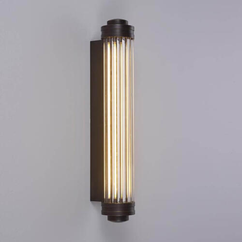 Glass Rod Wall Light
