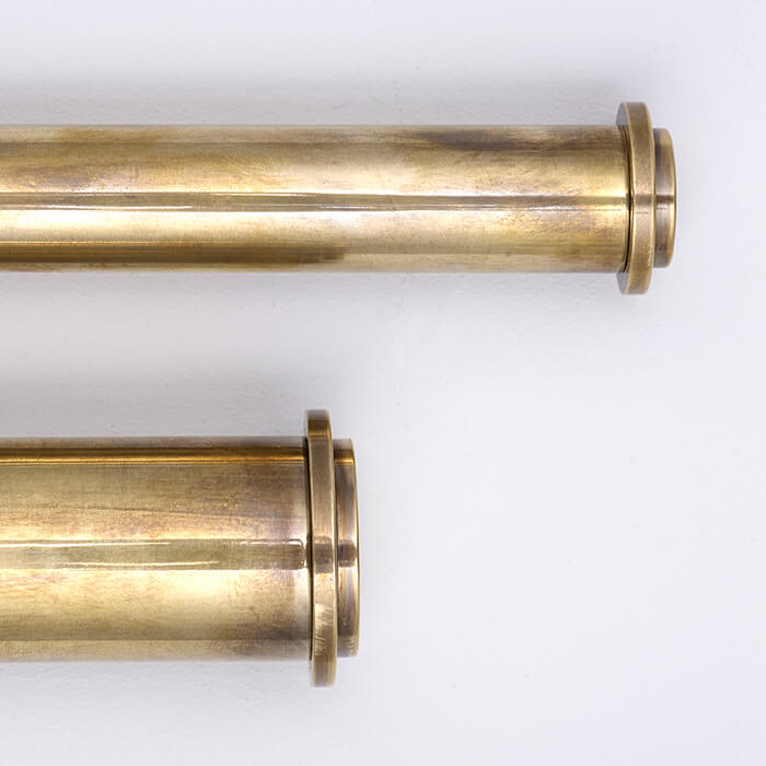 brass picture rail available in different diameters