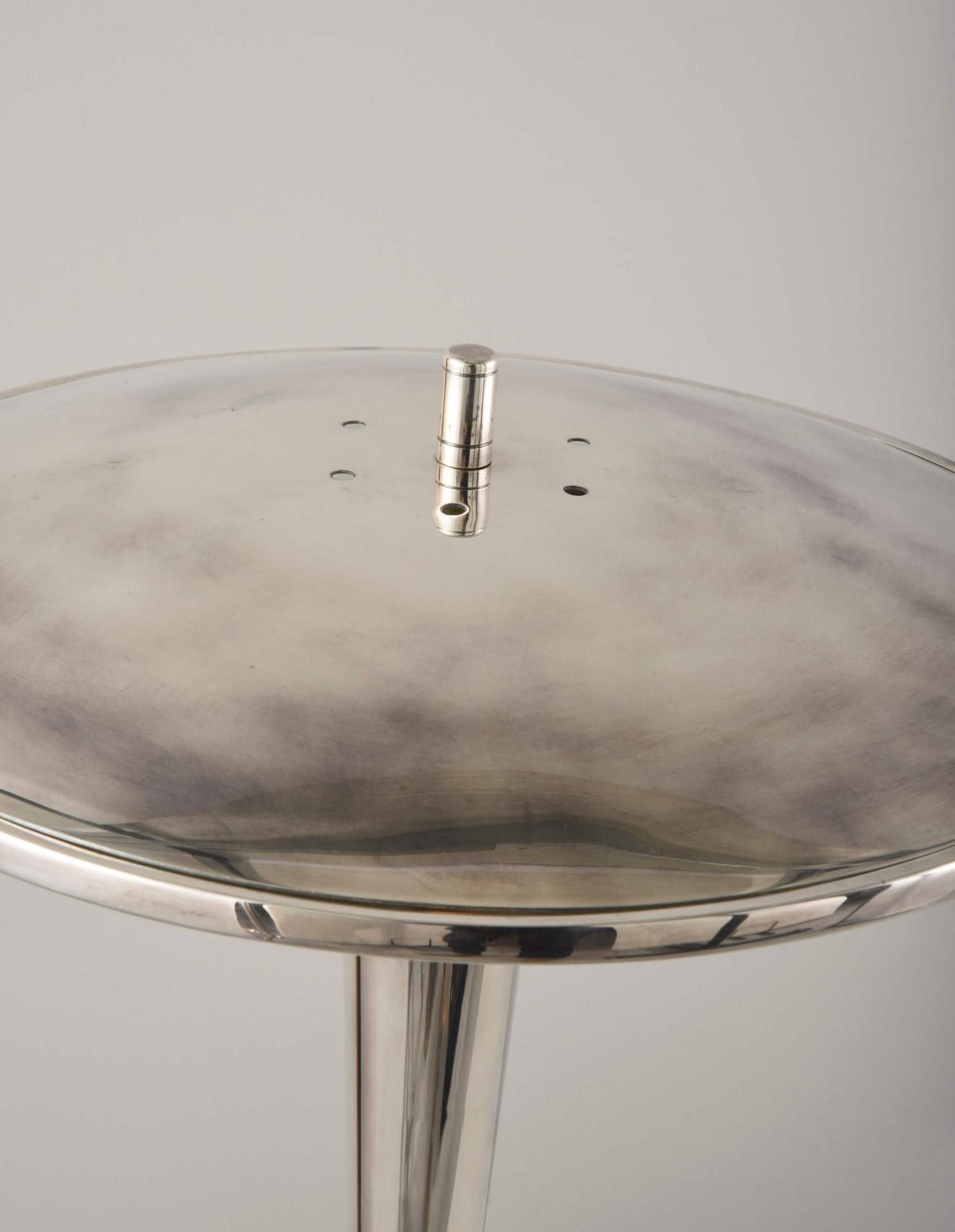 Roswell Light by Collier Webb seen in our Antique Silver finish