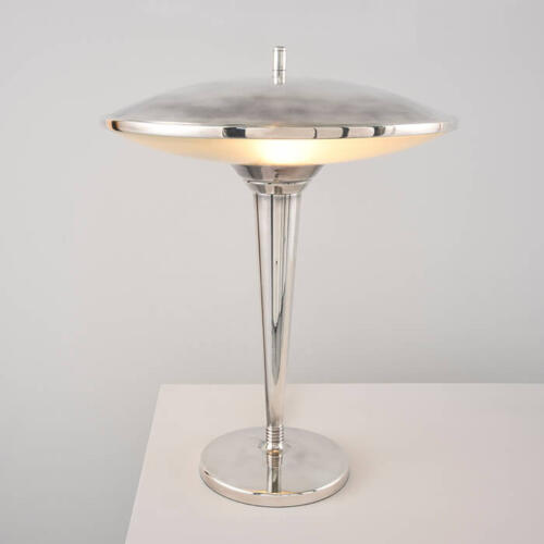 Roswell Light - an Art Deco style table lamp