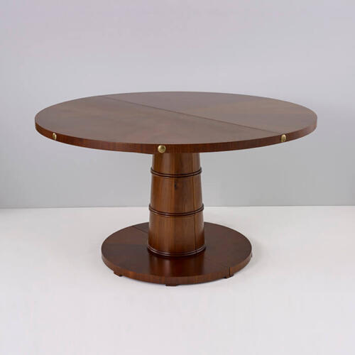 Cannon Table, a luxury bespoke wooden dining table by Collier Webb