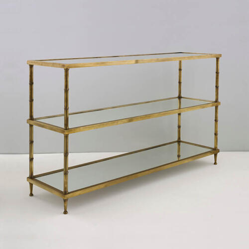 Ramsay Etagere, bespoke metal furniture made in England by Collier Webb