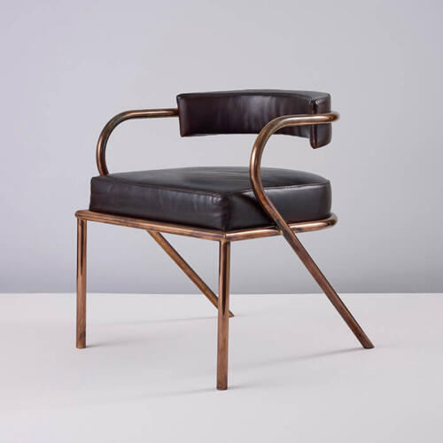 Rene Chair, Art Deco inspired furniture by Collier Webb