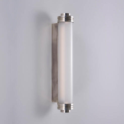 cylindrical glass wall light