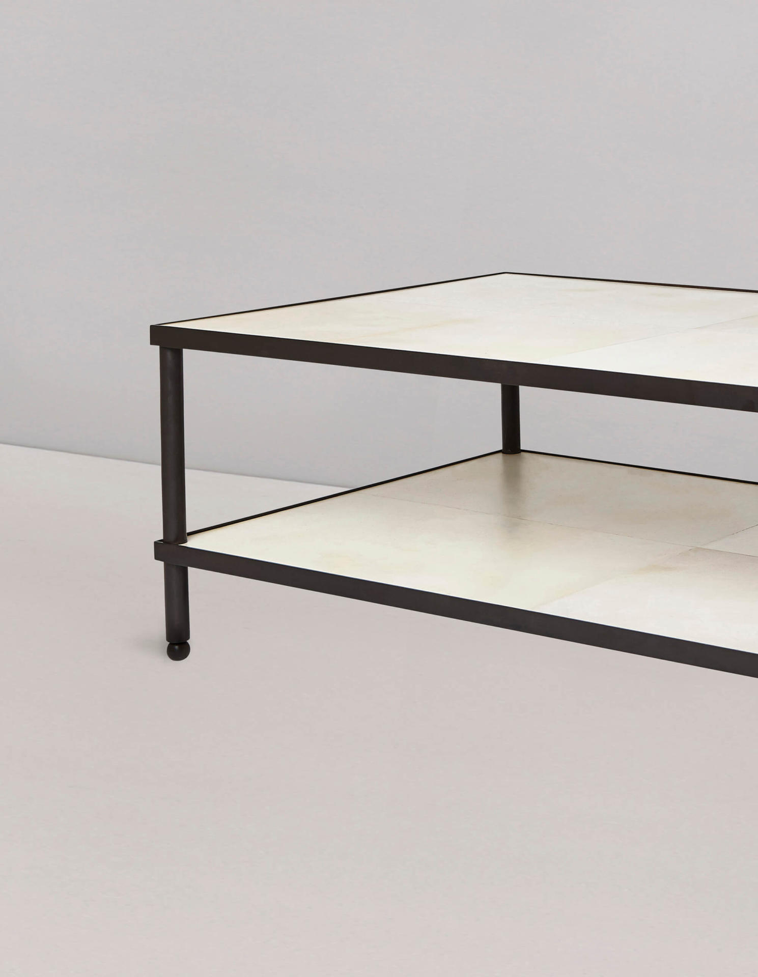 bronze coffee table by Collier Webb