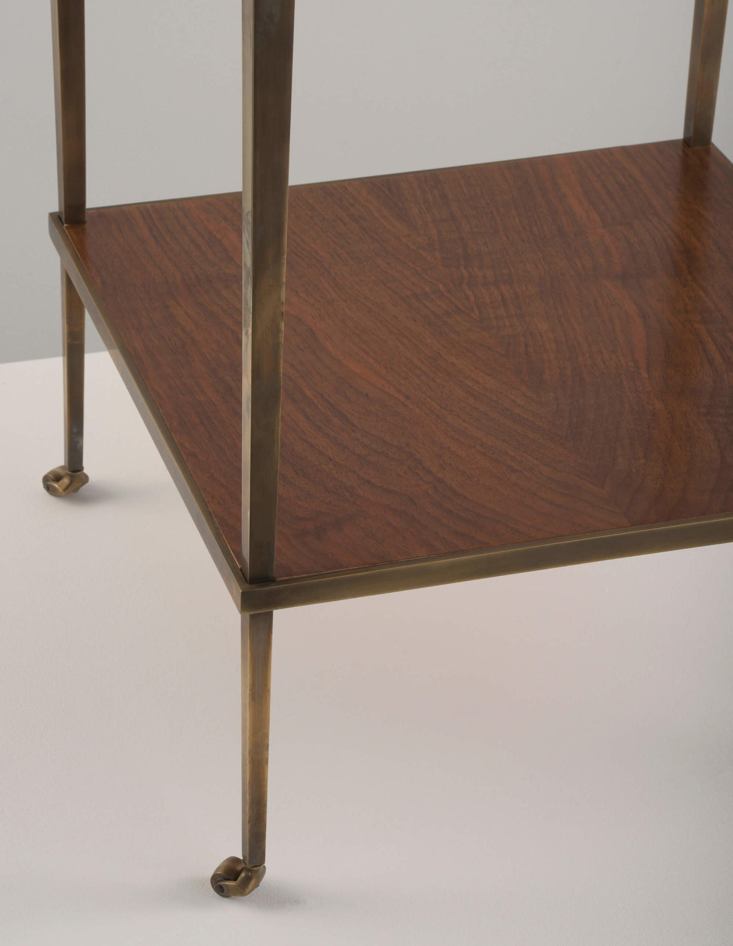 antique reproduction side table by Collier Webb