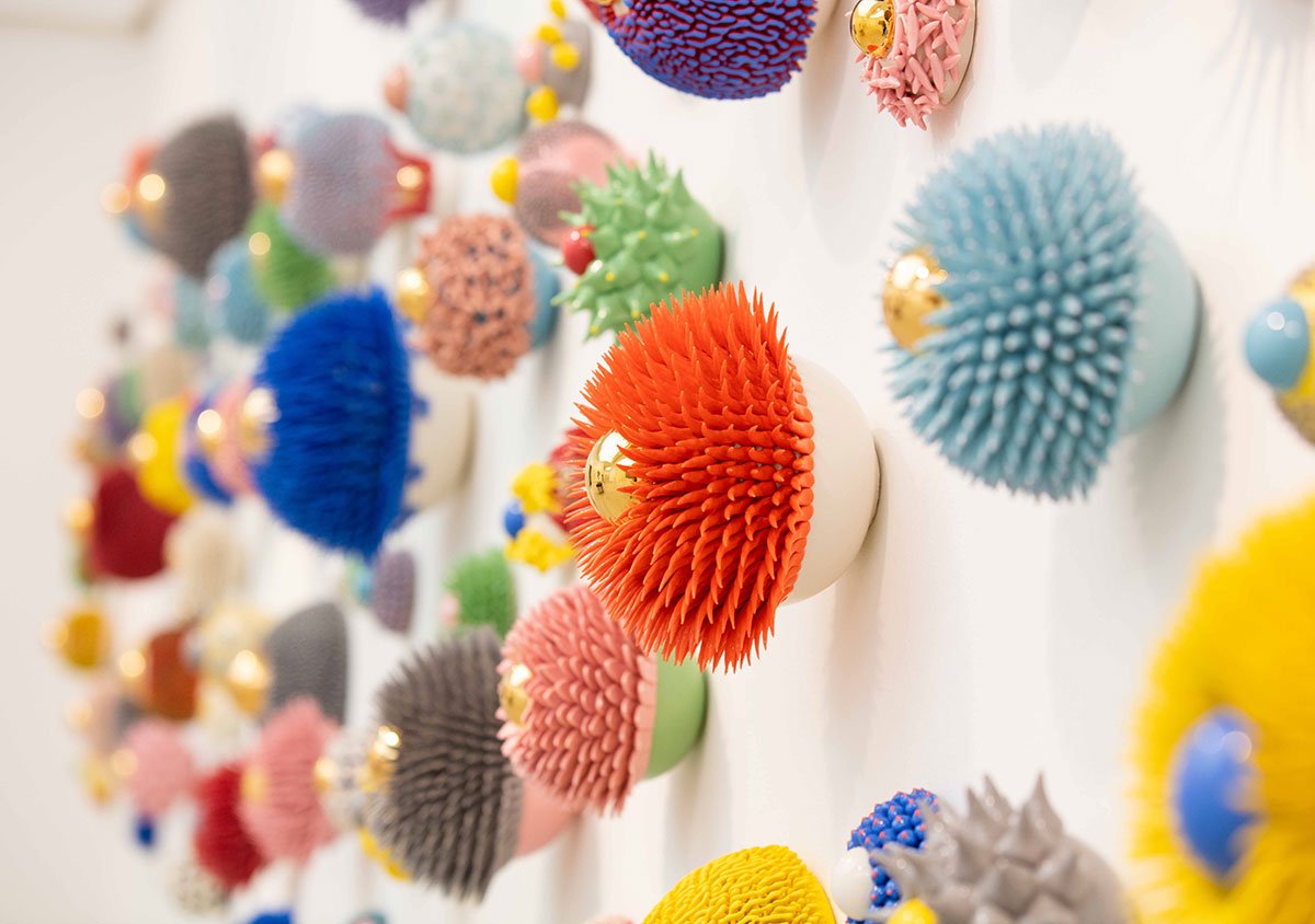 Myung Nam An's Ceramics represented by Cube Gallery, London