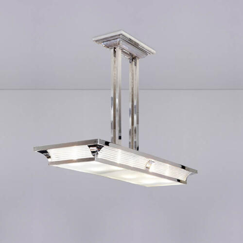 Art Deco inspired lighting by Collier Webb