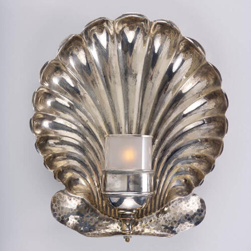 Clandon Wall Light, Brass Wall Sconce by Collier Webb