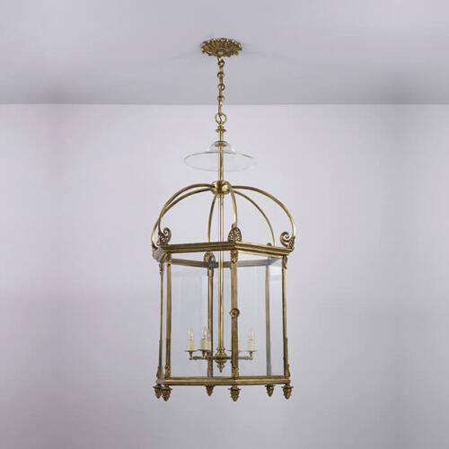 Goodwood Lantern - Regency hanging lantern by Collier Webb
