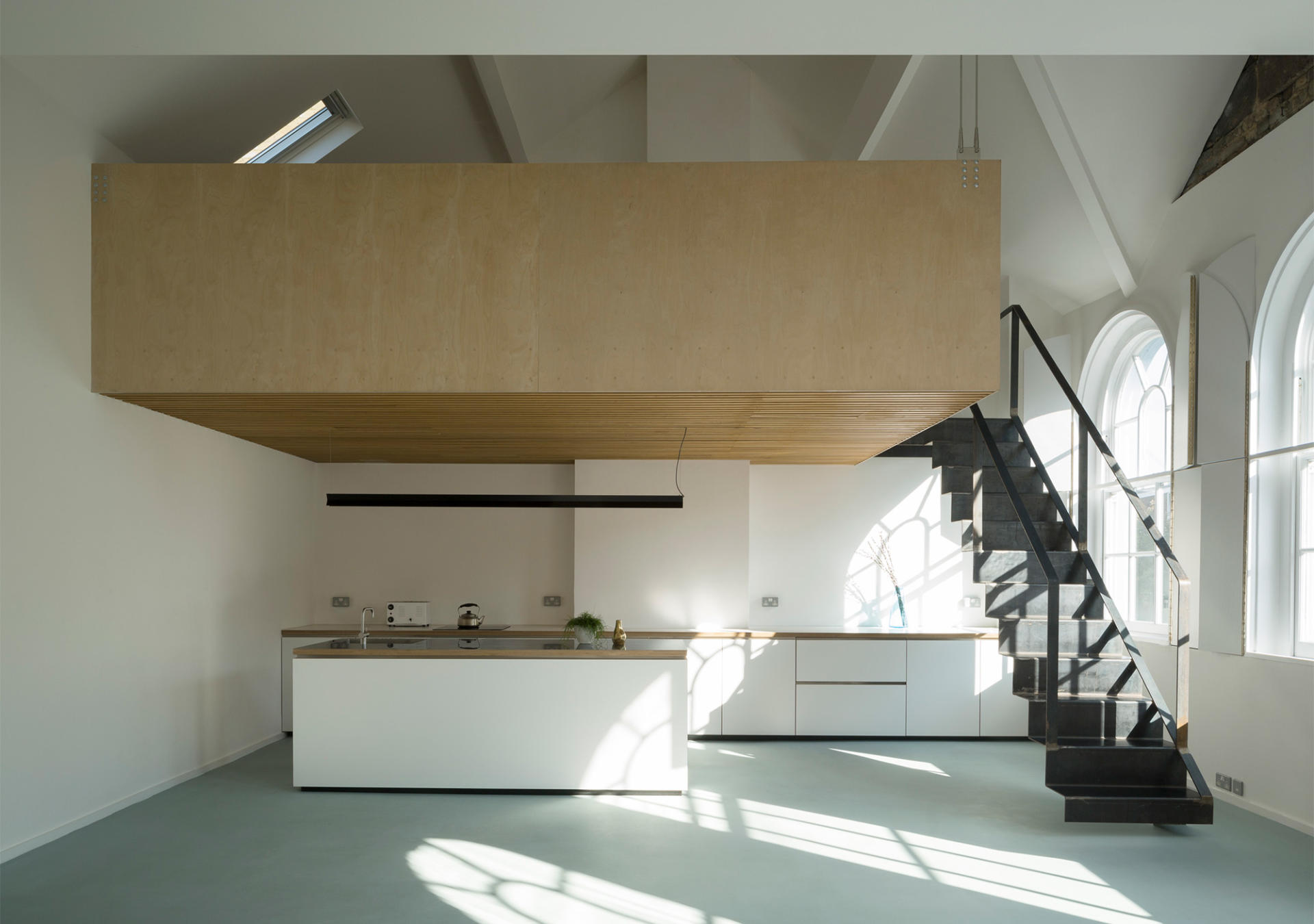 Phase 1 of Bavaria Road with Staircase designed by West Architecture