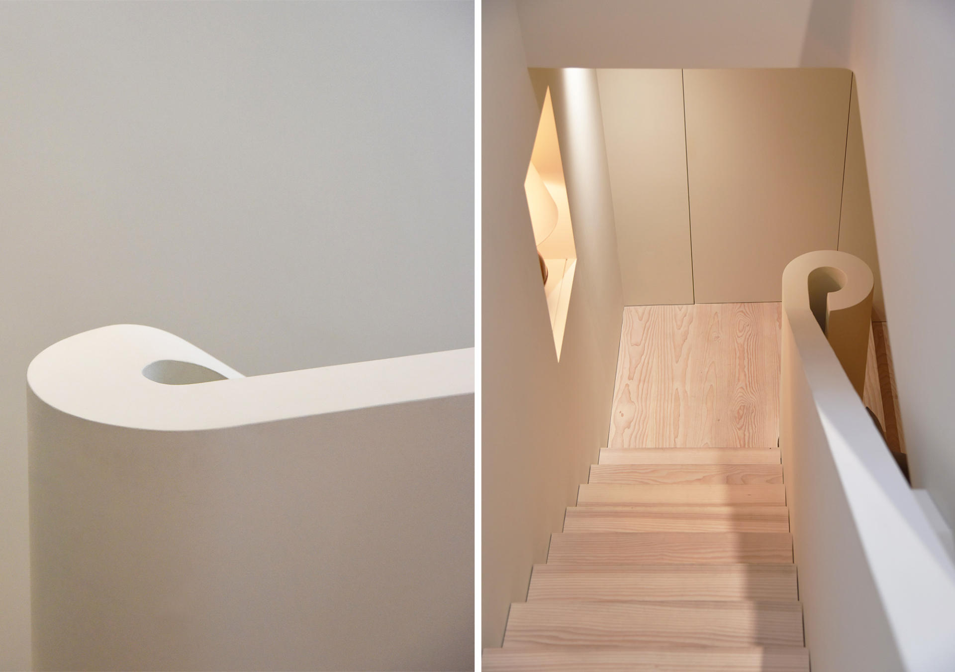 Collier Webb Showroom Staircase design by West Architecture