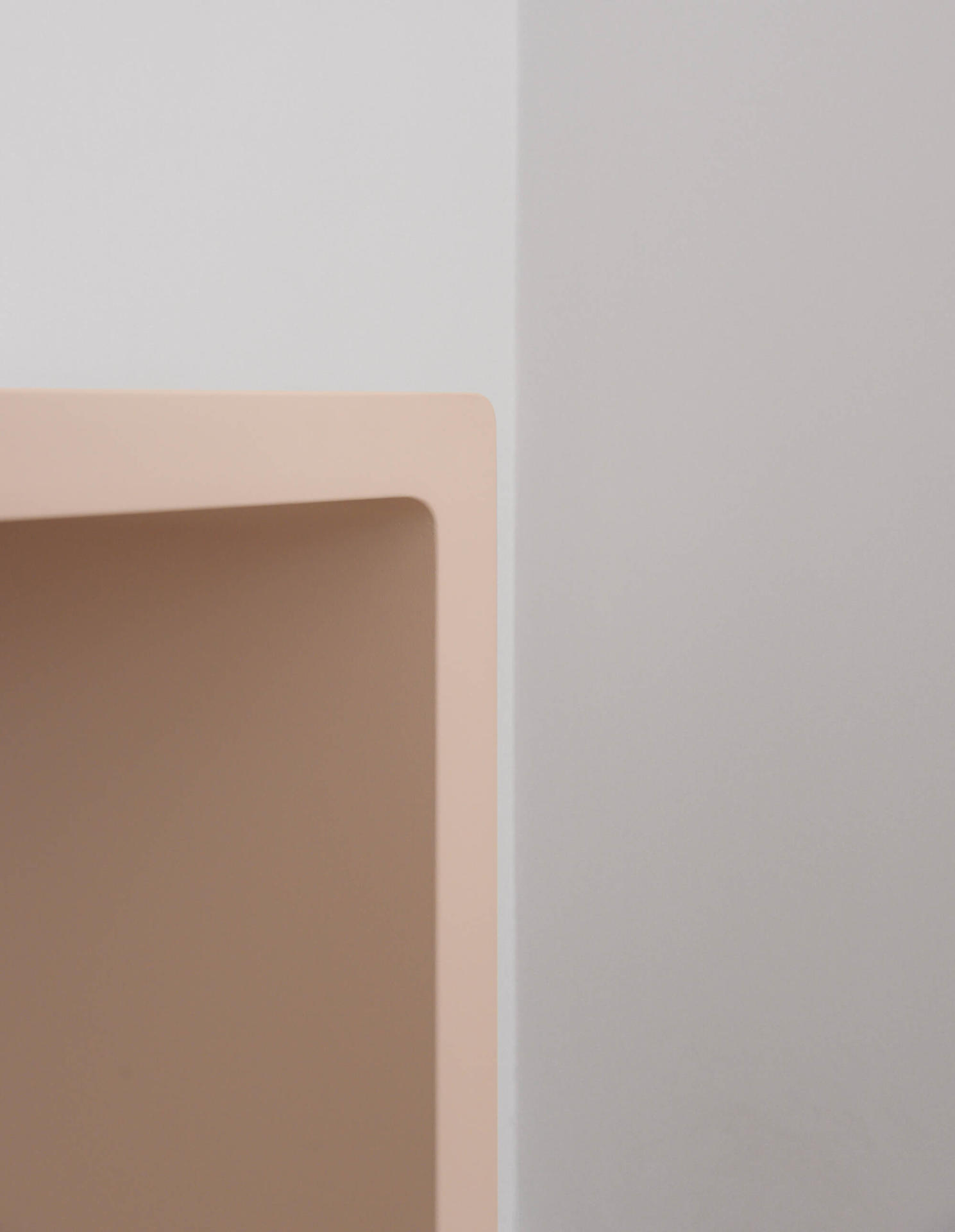 Collier Webb X Samantha Todhunter Design Pink Lacquer Console Table