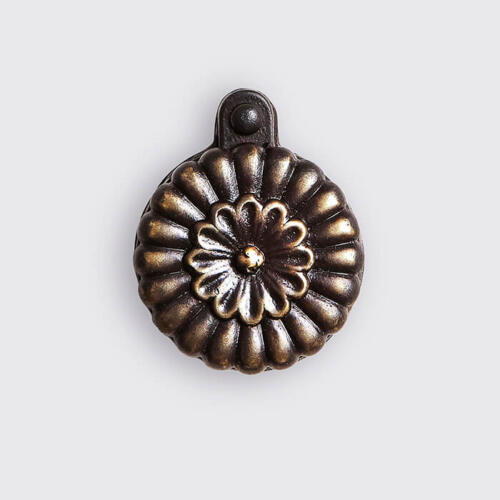 Pumpkin decorative door hardware