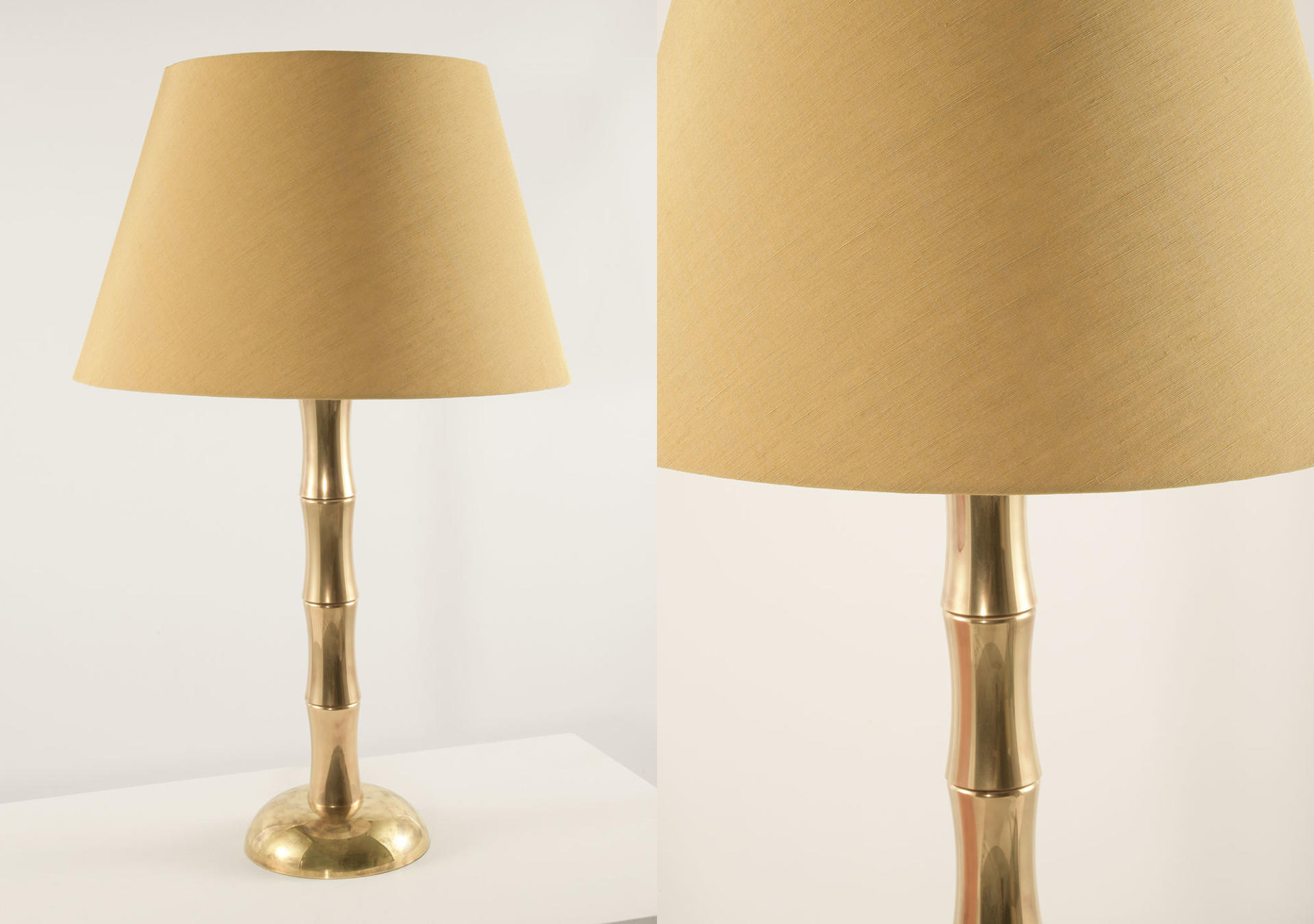 Bamboo_solid_brass_lamp_with_George_Spencer_Designs_Fabric_Strie_Citrus