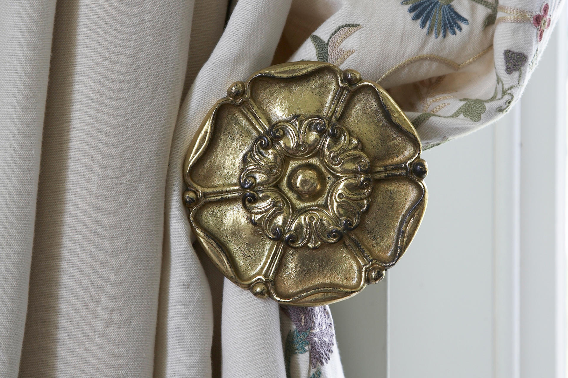 Hope curtain tieback - period hardware by Collier Webb