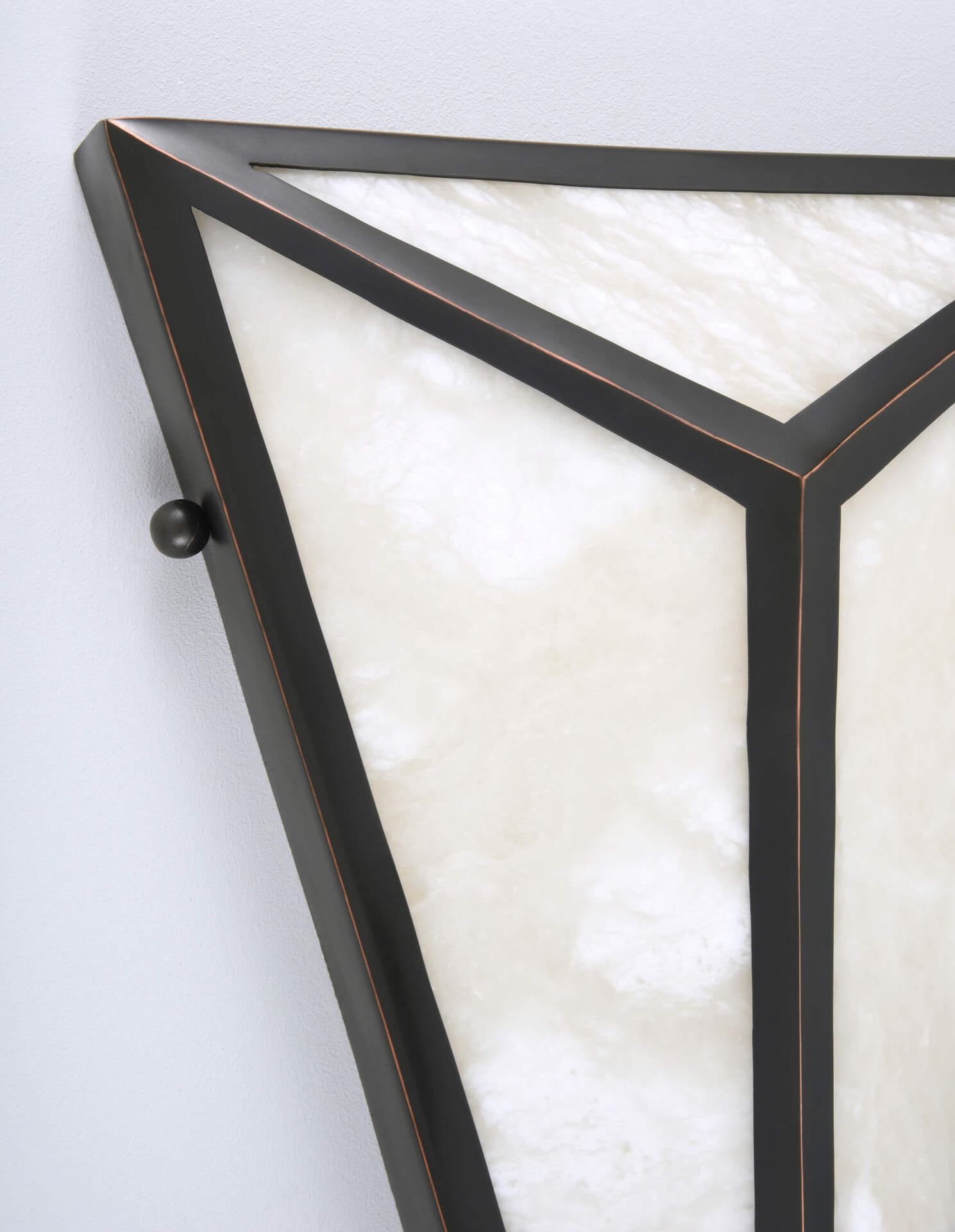 Alabaster Wall Light by Collier Webb