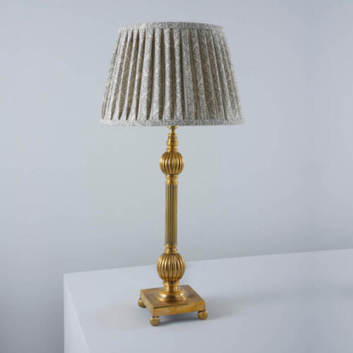 Ottoman table lamp by Collier Webb