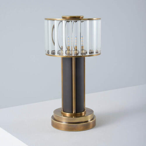 rechargeable table lamp by Collier Webb
