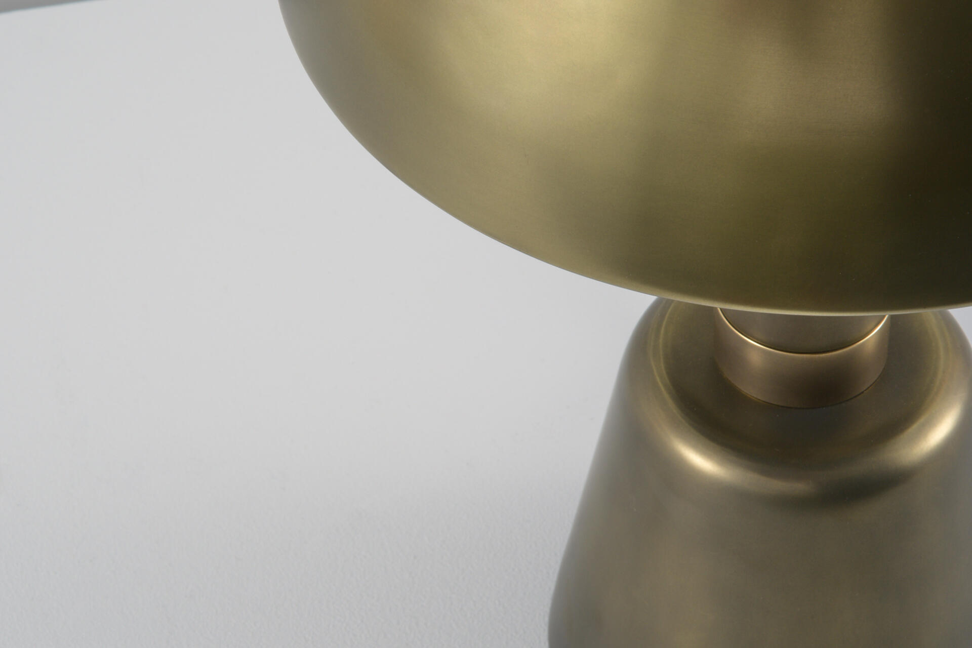 Cep table lamp made at the Collier Webb foundry and available at their London showroom