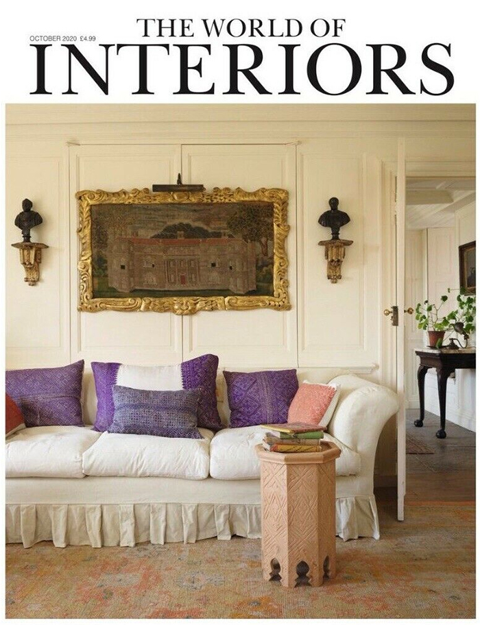 Collier Webb Cep light in The World of Interiors October 2020
