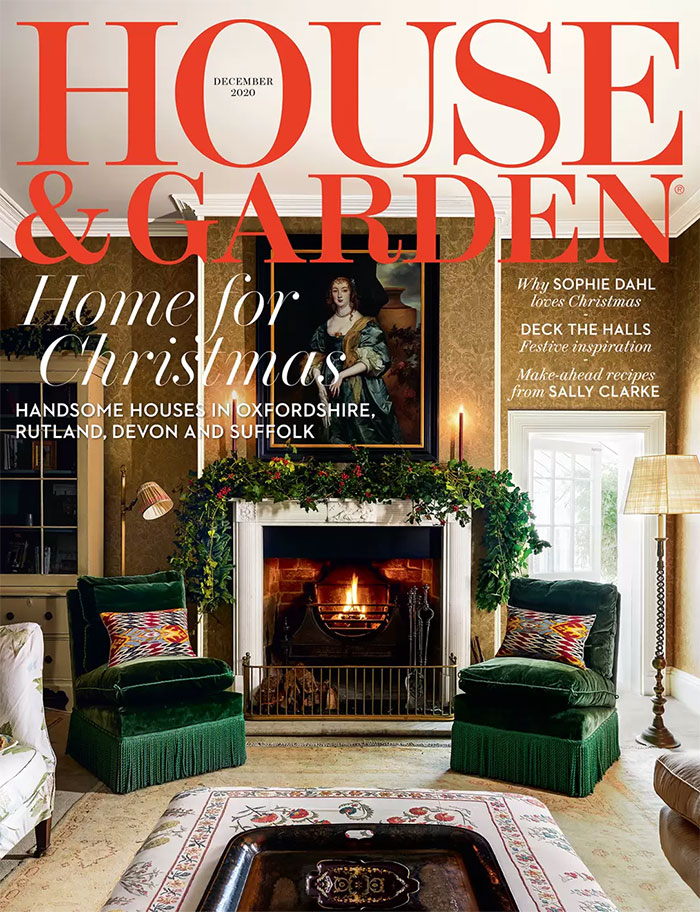 Collier Webb feature in House and Garden December 2020