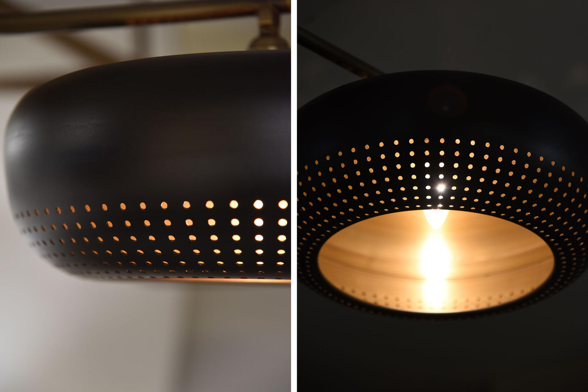 Collier Webb custom lighting manufacturer worked with Mulberry Black, New York