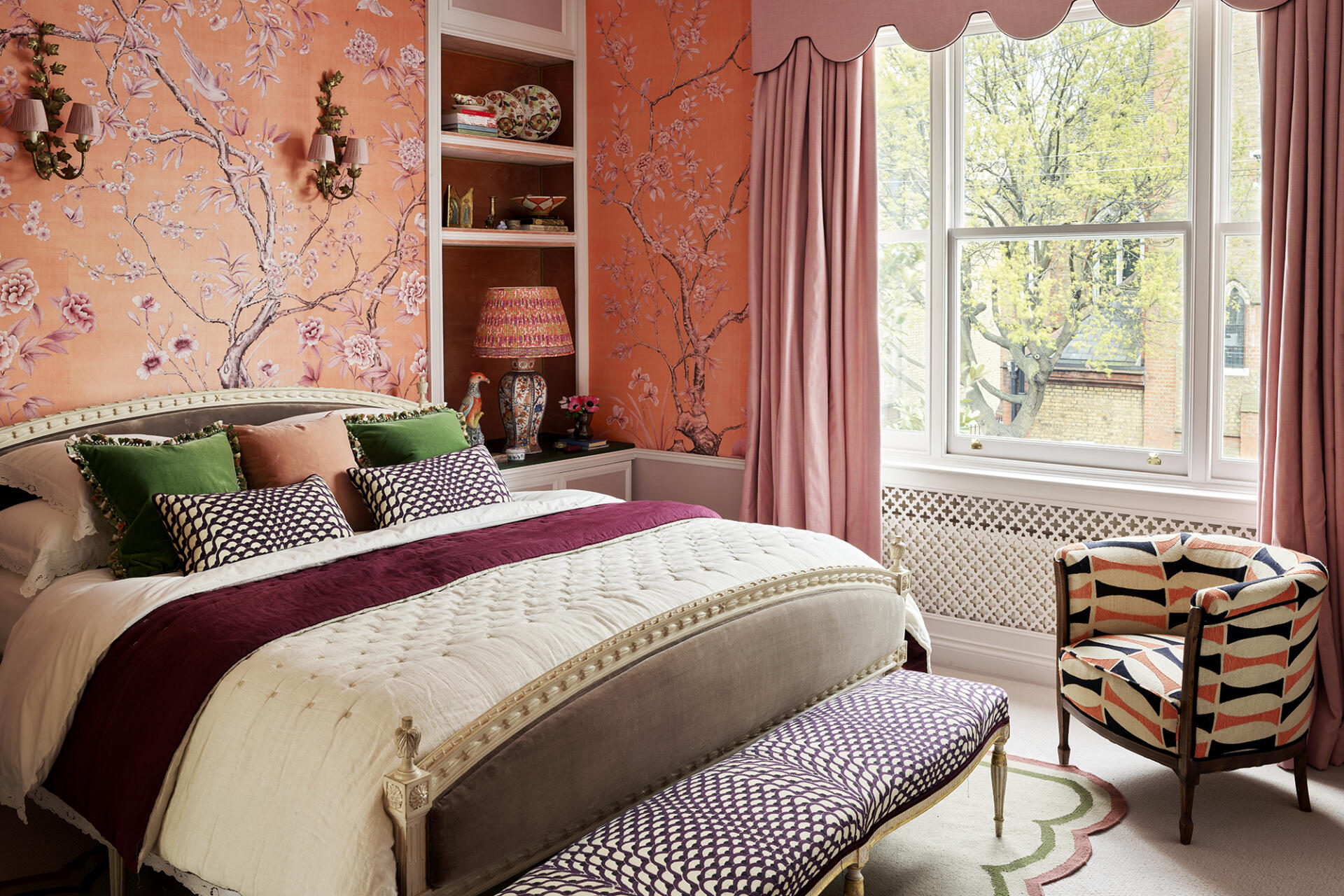 Hannah Cecil Gurney London bedroom