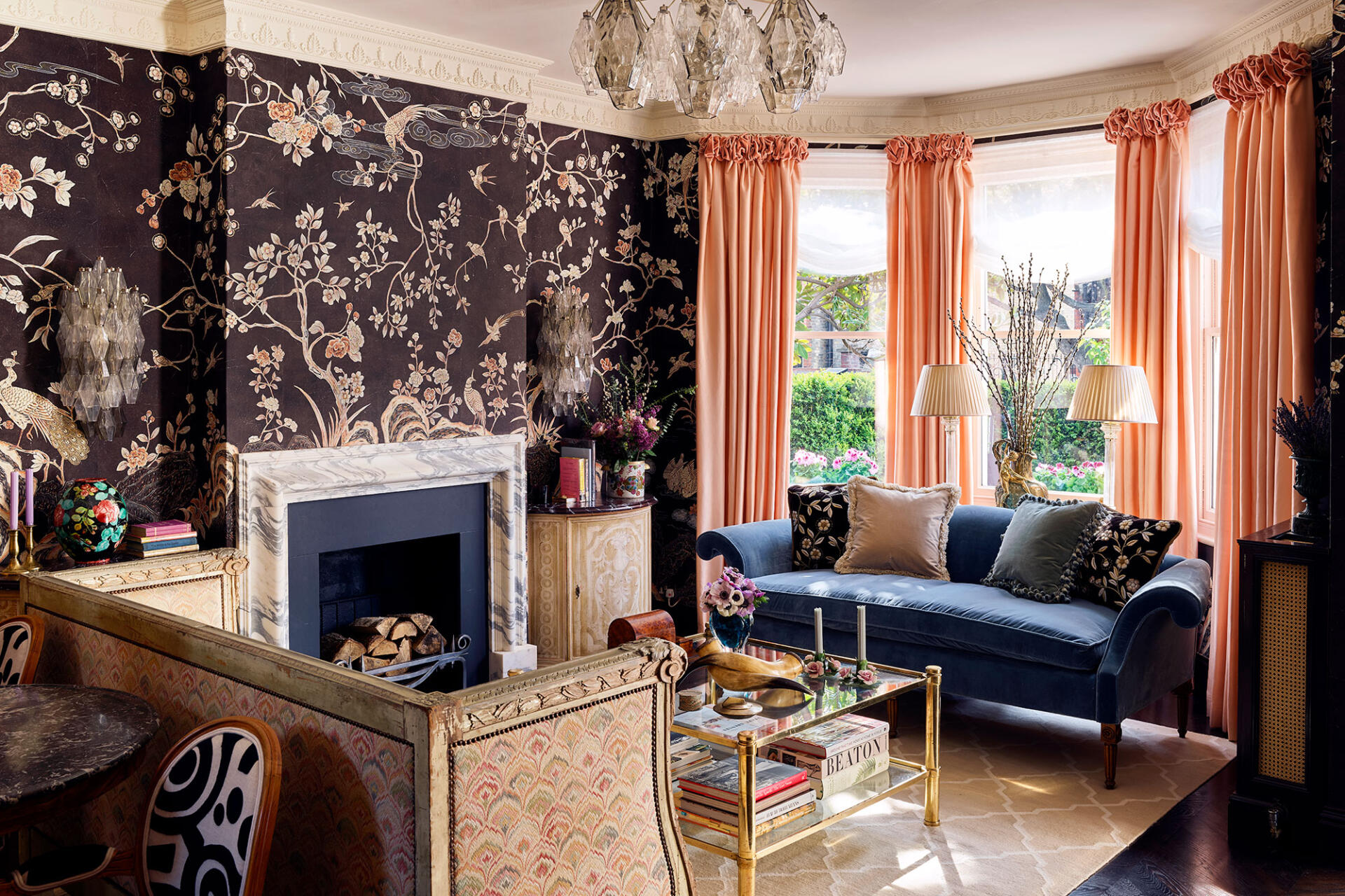 Coco Coromandel wallpaper by de Gournay