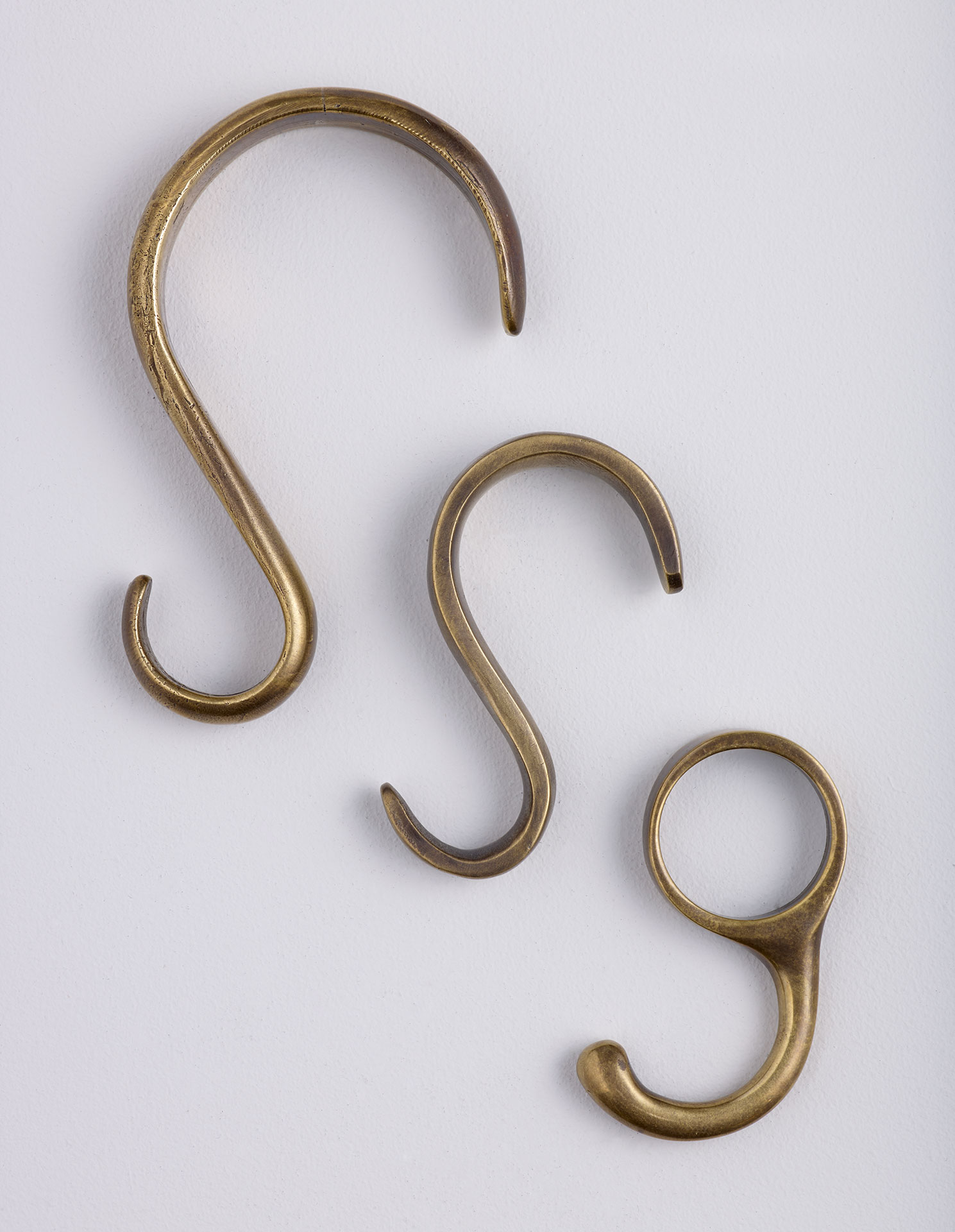 brass s hooks for picture hanging