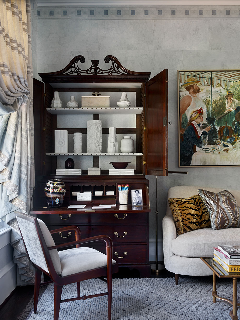 Lindsey Waters and James Michael Howard interior design
