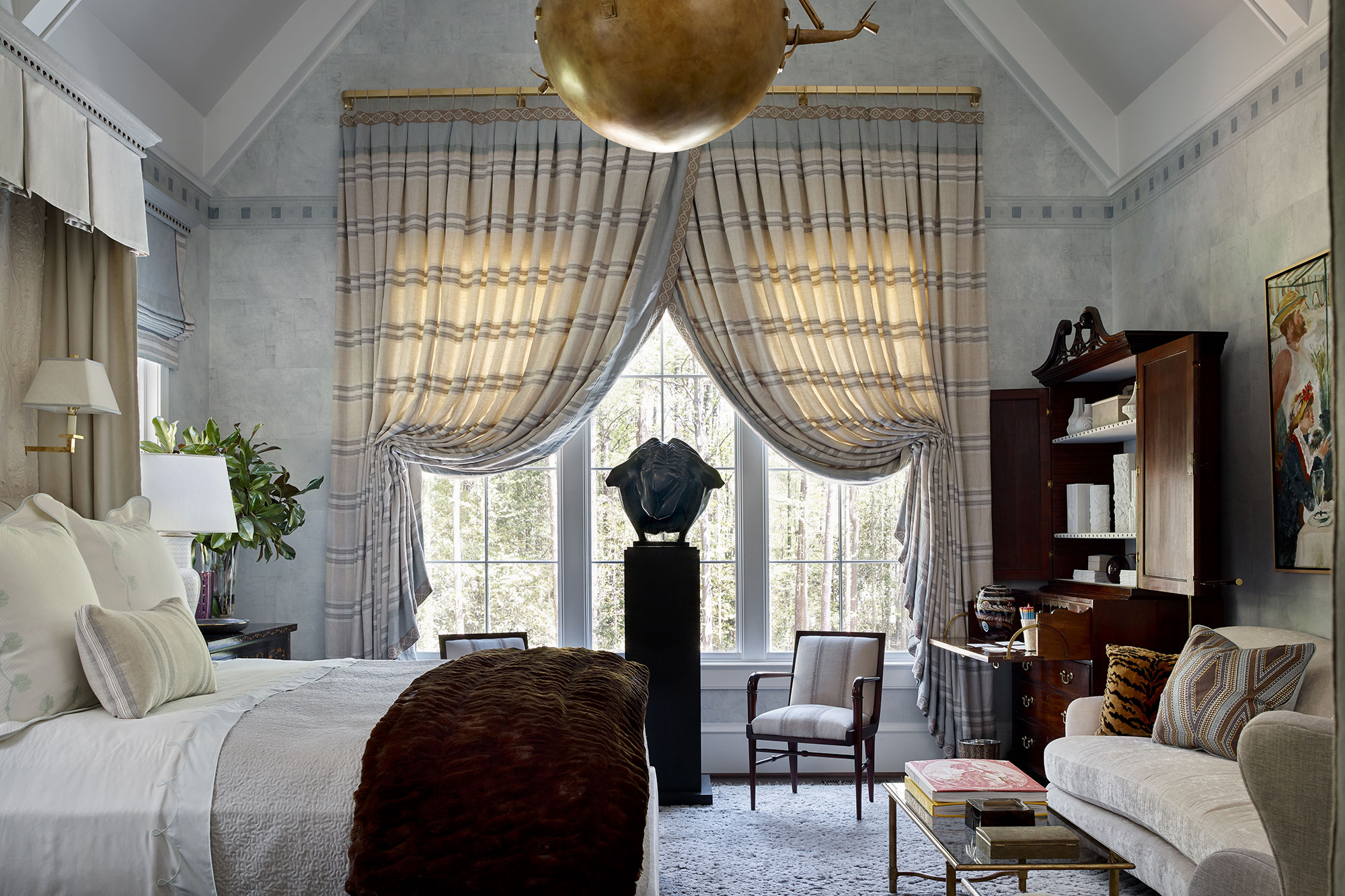 Lindsey Waters bedroom interior design Atlanta