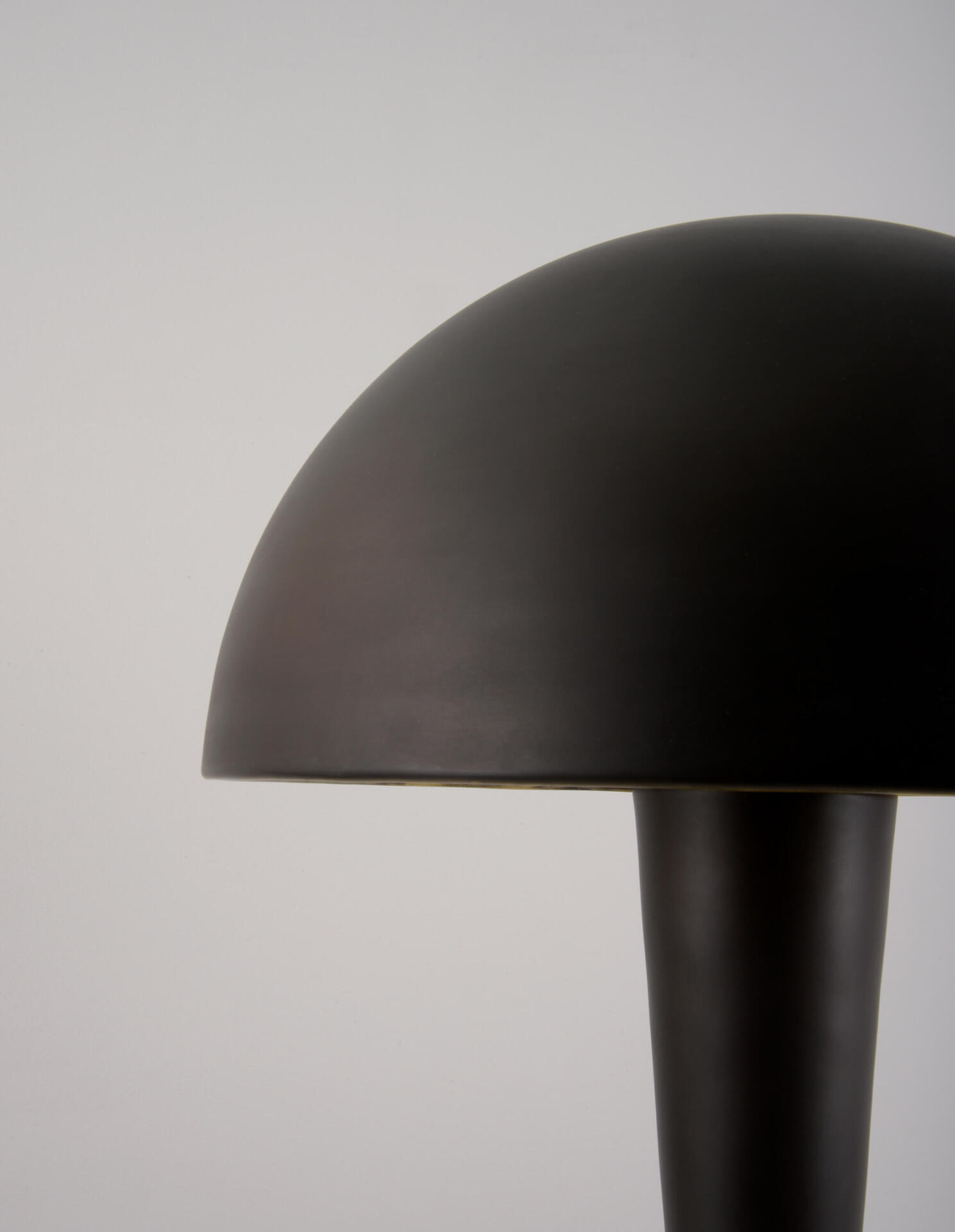 The Large Cep - a modernist table lamp by Collier Webb