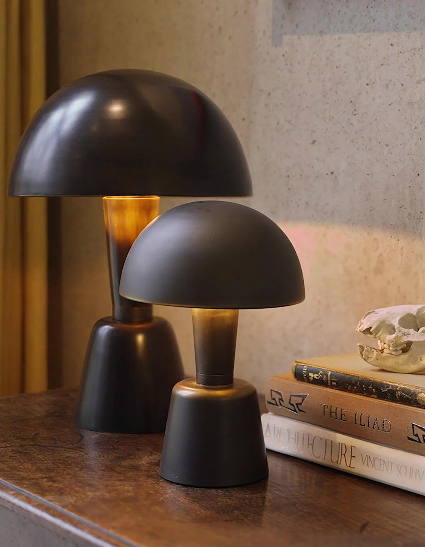 Mini Cep cordless table light by Collier Webb
