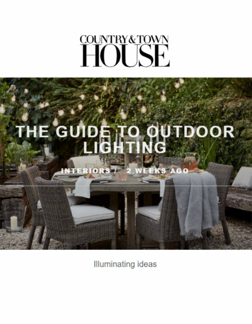 Collier Webb Alabaster Shot wall lights in Country & Townhouse online June 2021