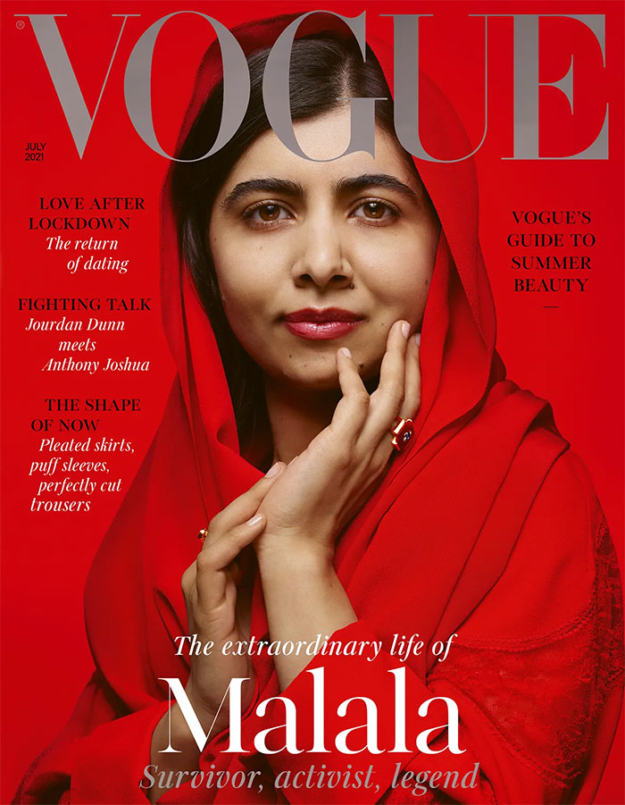 British Vogue July 2021 cover