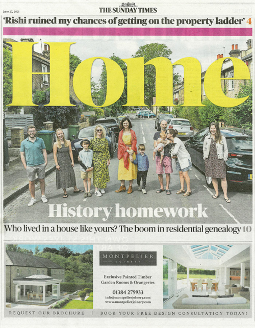 Collier Webb Clipper Task wall light in Sunday Times Home June 27th 2021